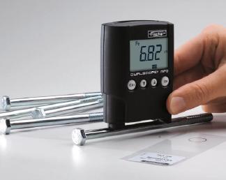 测量铁上镀锌层的厚度