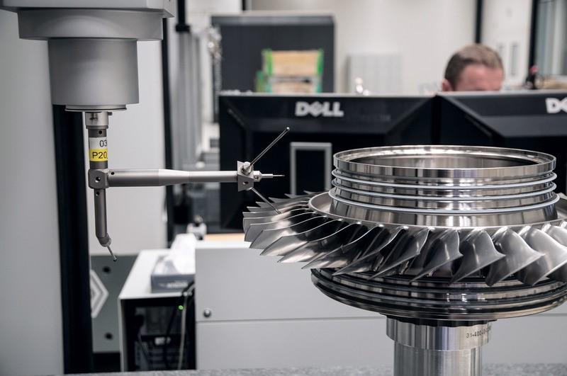 高精度测量机为德国发动机公司提供高精度测量