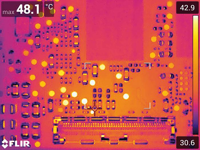 PCBA热成像与宏观模式